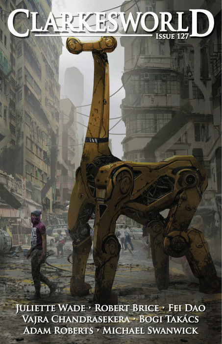 Clarkesworld #127 cover